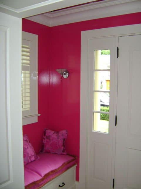painters toronto image sample entryway painted pink